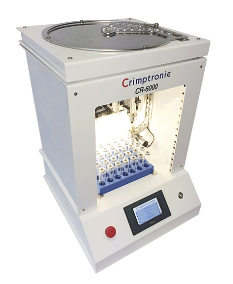 CR-6000 : Sertisseuse electrique CR-6000 : Elektrische Bördelstation