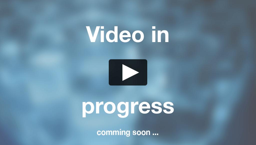Video in progress