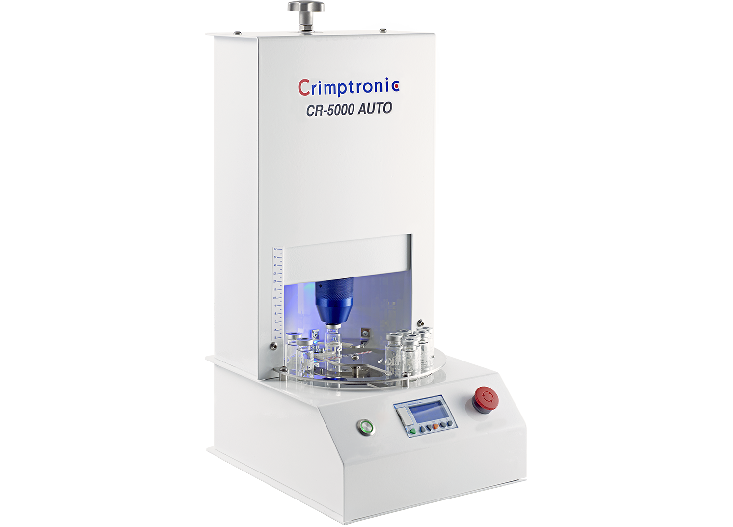 Electric crimping station for vials : CR-5000