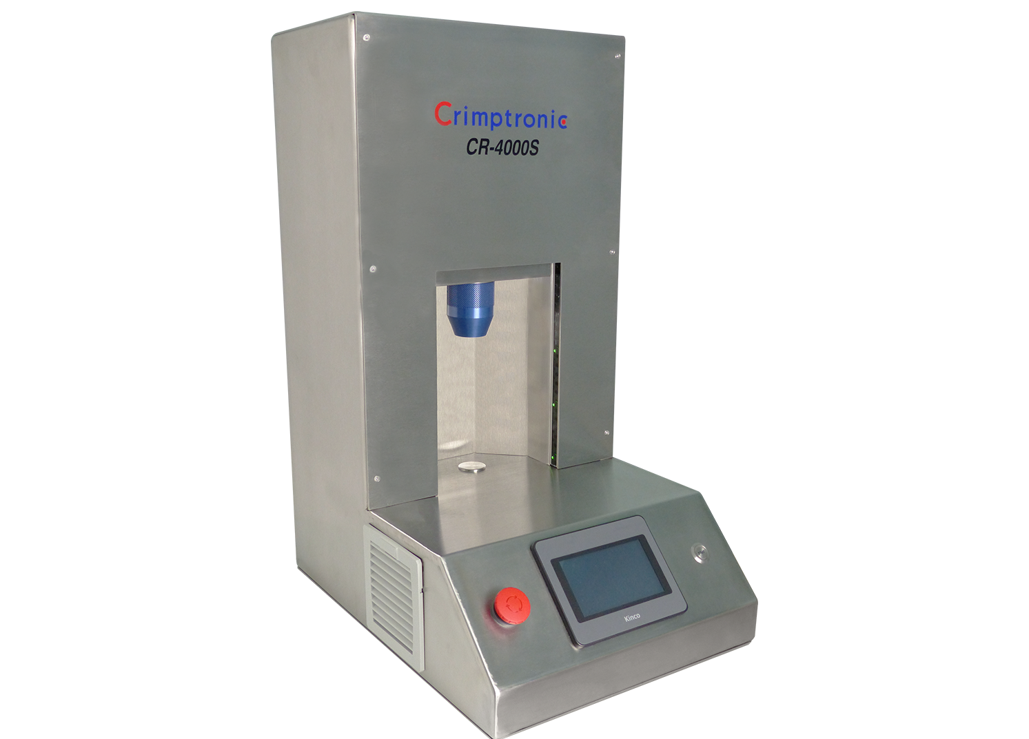 Electric crimping and decapping station for vials : CR-4000S