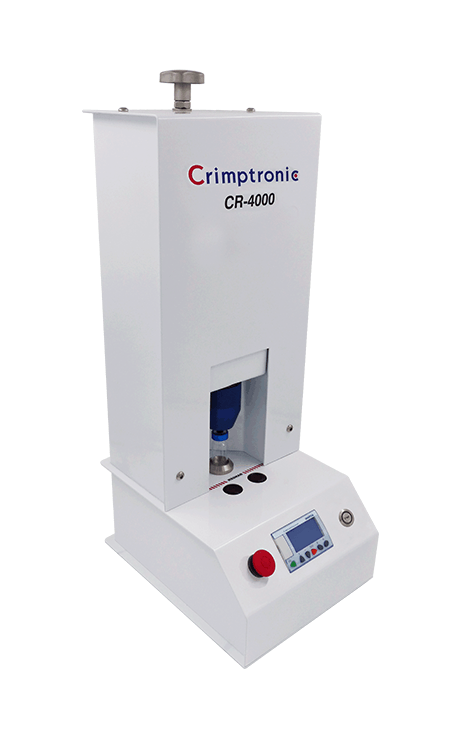 electric crimping and decapping station