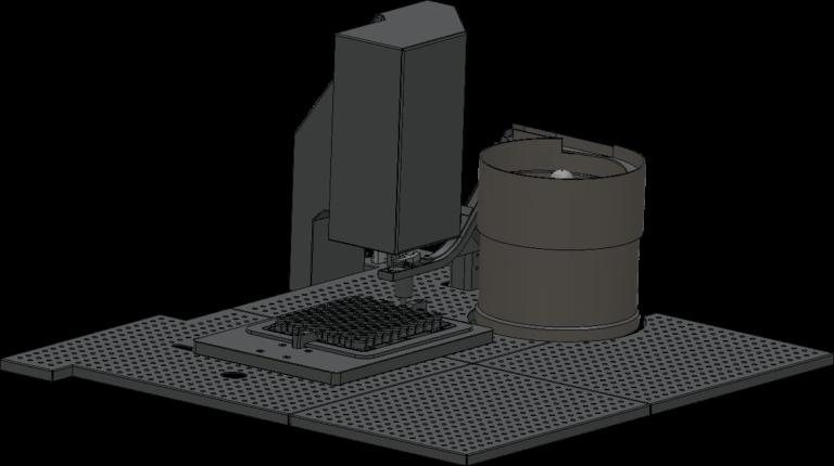 CR-7000 crimping machine for steril area