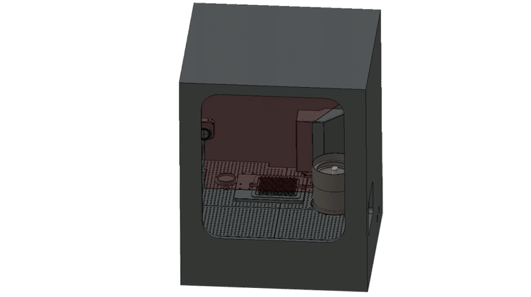 CR-7000_dessin_ crimping station in an isolator